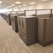 Haworth Cubicle Install Houston