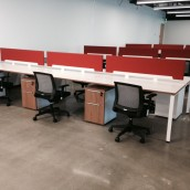 Houston Benching Cubicles