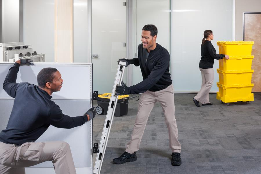 Commercial Relocation Services. Design Services. Office Furniture  Installation
