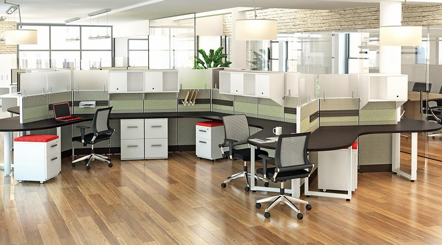 dogbone cubicles your new and used office furniture in