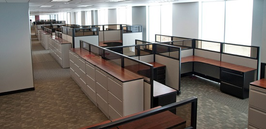 Used cubicles, Houston | Pre-owned office cubicles, Houston