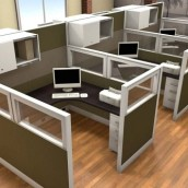 Friant Interra Cubicles Glass