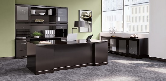 Executive desks for home office houston for Z furniture houston