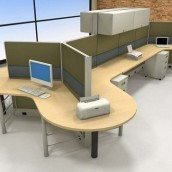 Systems2 Dogbone Cubicles