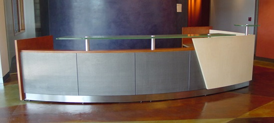 Reception Office Desks Houston