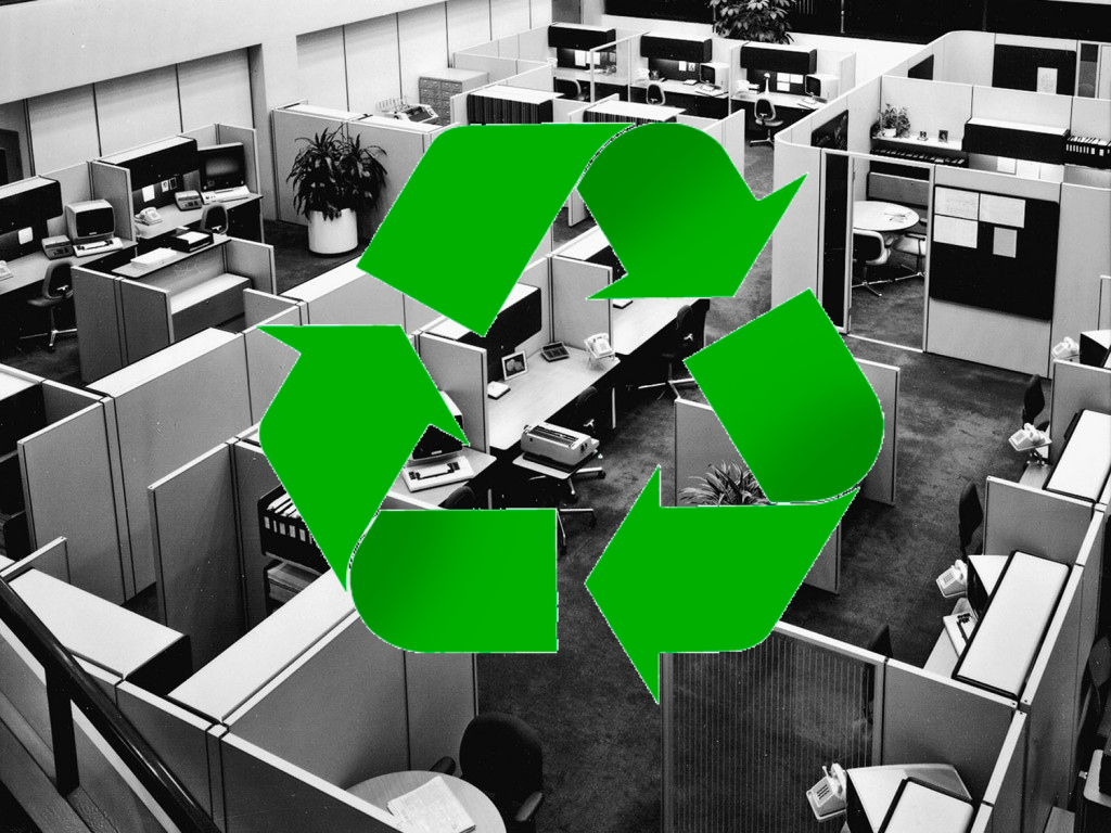 The Business and Environmental Benefits of Recycled Office Furniture
