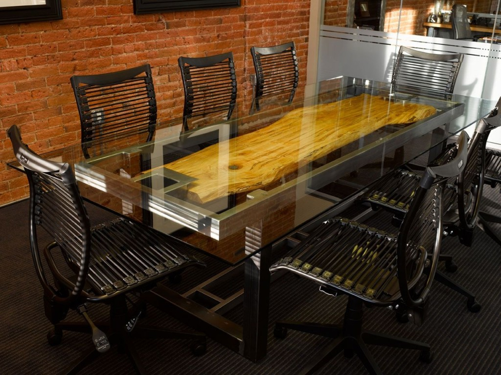 Custom Conference Table. Custom design office furniture  Houston   Custom commercial furniture