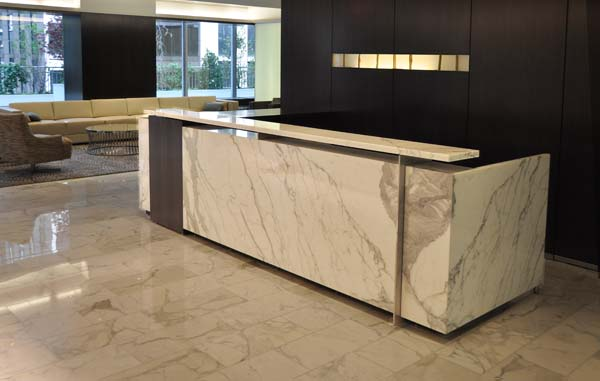 Delicieux Custom Office Furniture. Custom Reception Desks