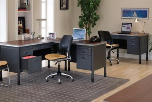 Steel Office Desks