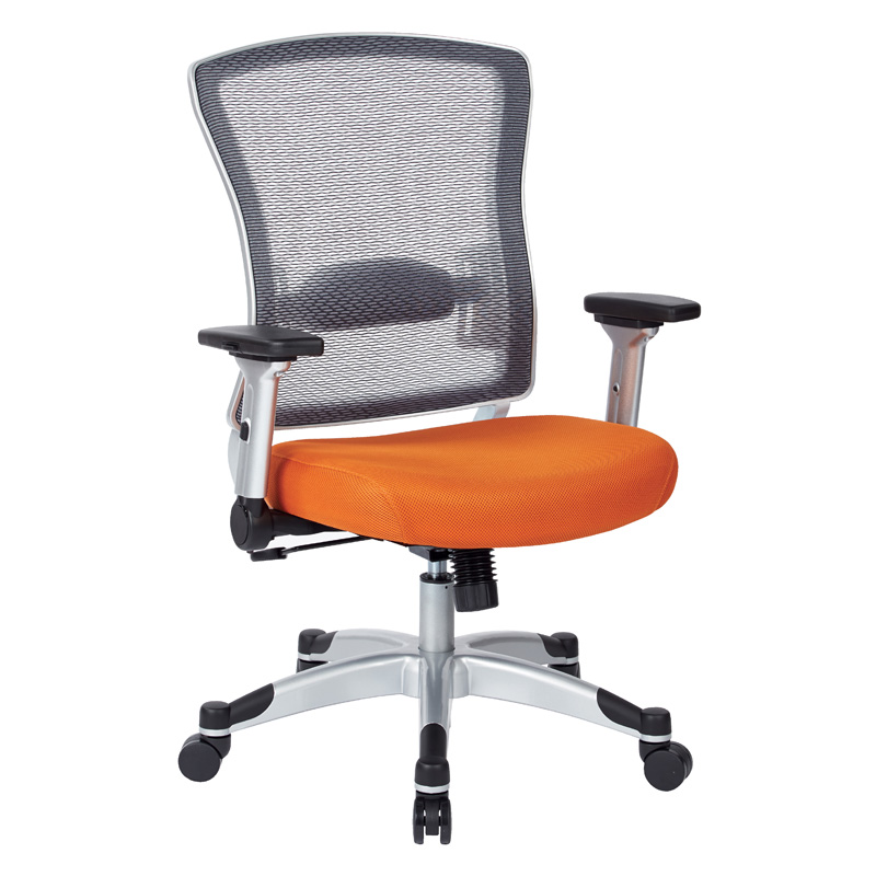 317-6C61F6- Space Task Chair, Platinum Base