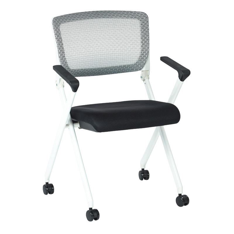 848W-3 Folding Chair with Breathable Mesh Back
