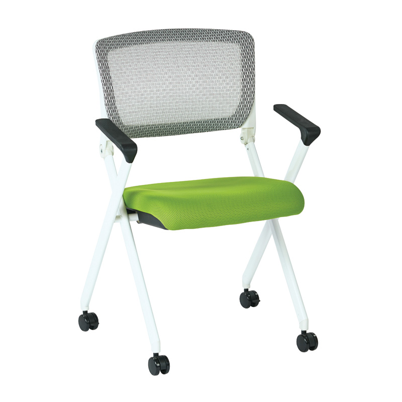 848W- Folding Chair with Breathable Mesh Back