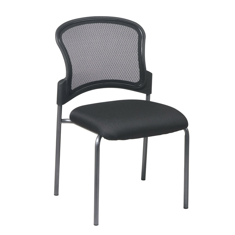 86724-30 ProGrid Back Visitors Chair with Titanium Finish