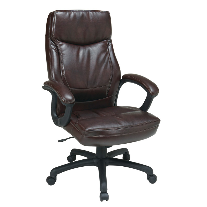 EC6582-EC9 High Back Leather Managers Chair