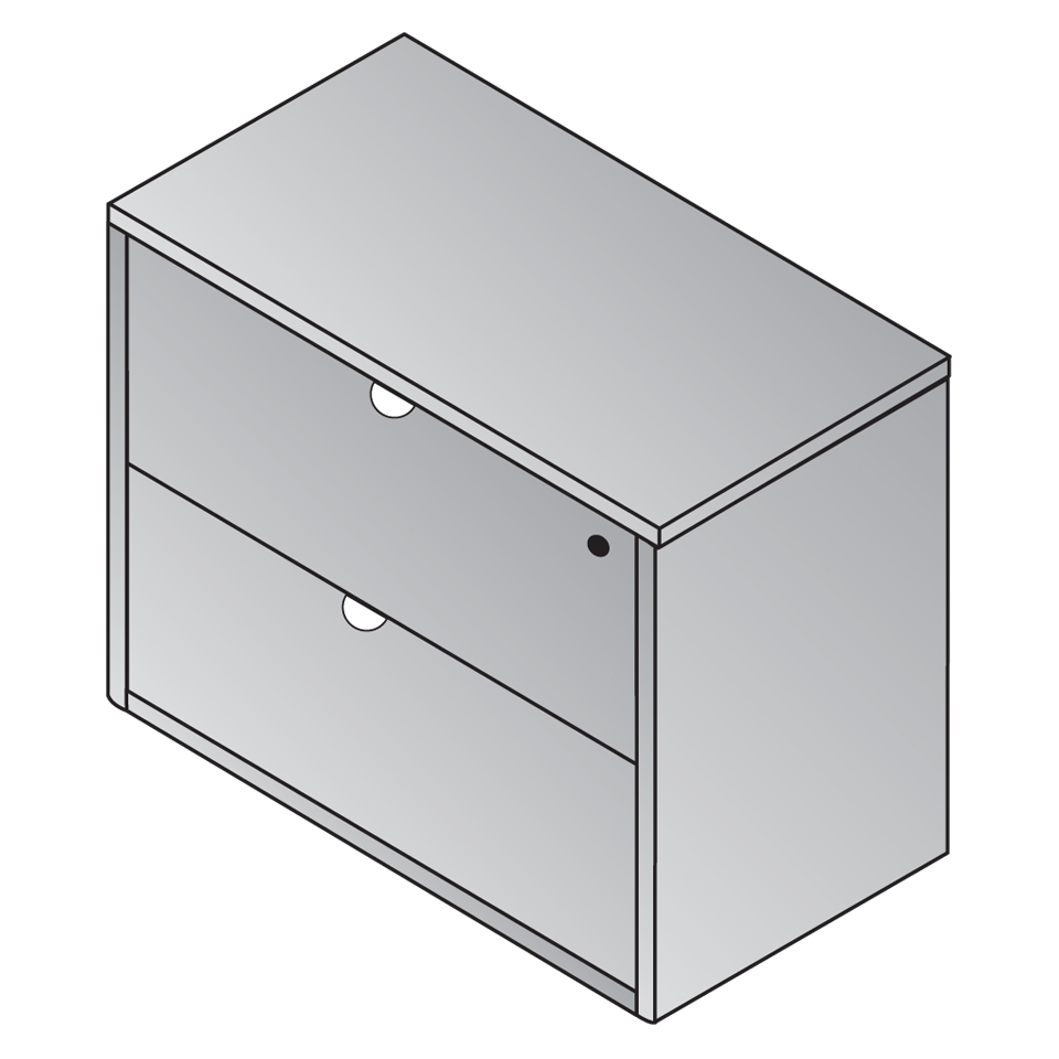 K-12 2-Drawer Lateral File