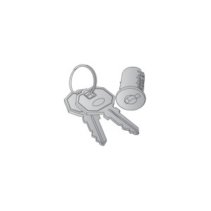 OSP0001-OSP0050 Lock Core and Key Set for Kent and Studio Series