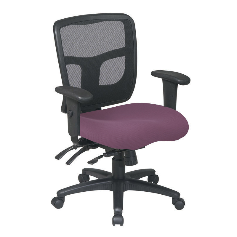 MI-1522- ProGrid Back Managers Chair with Multi-Function Control