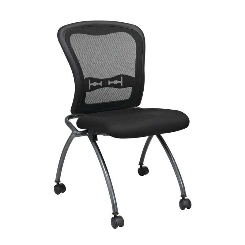NI-1200-30 Armless ProGrid Back Nesting Chair