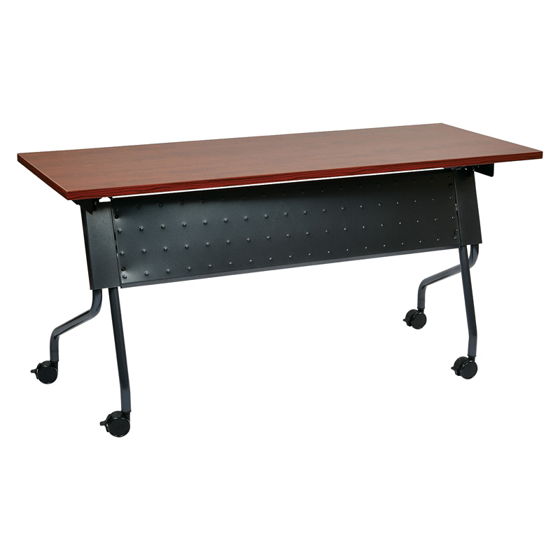 NI-84225T 60 x 24 Nesting Training Tables with Modesty Panel