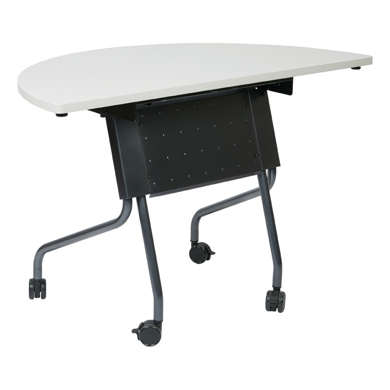 NI-842HR24T Half Round Folding Training Table
