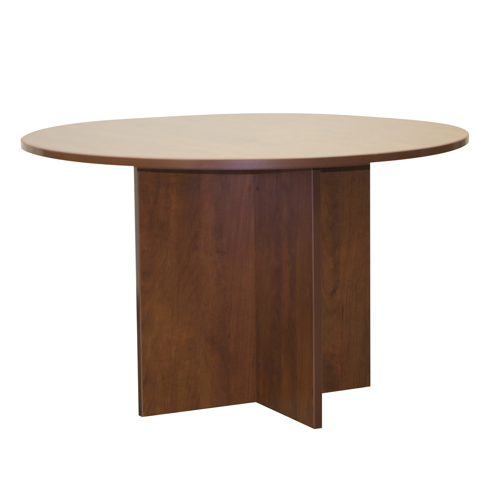 123 47″ Round Conference Table