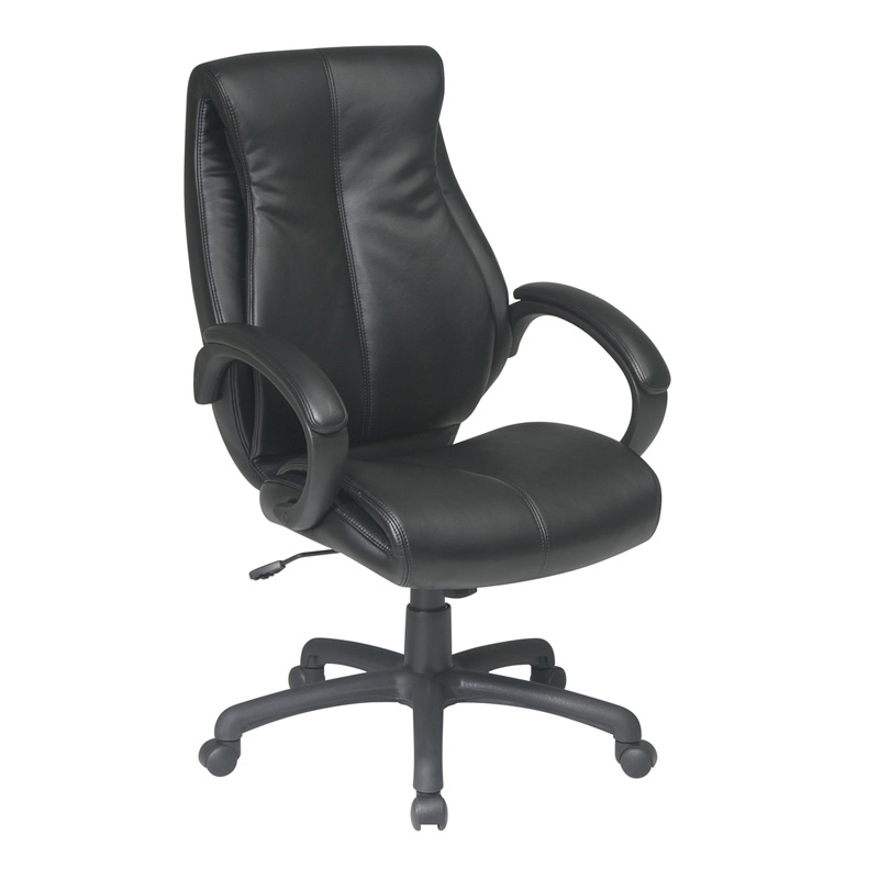 OFD-6640 Deluxe High Back Executive Leather Chair