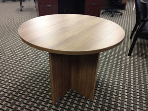 128 36″ Round Conference Table