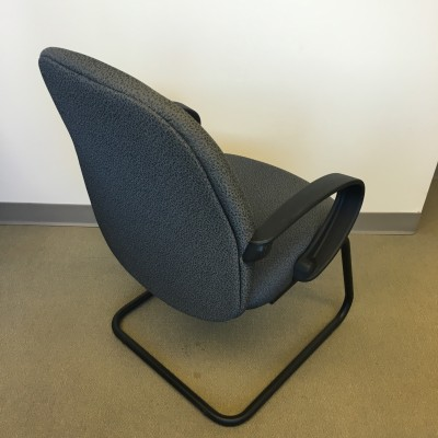 Grey Guest Chair