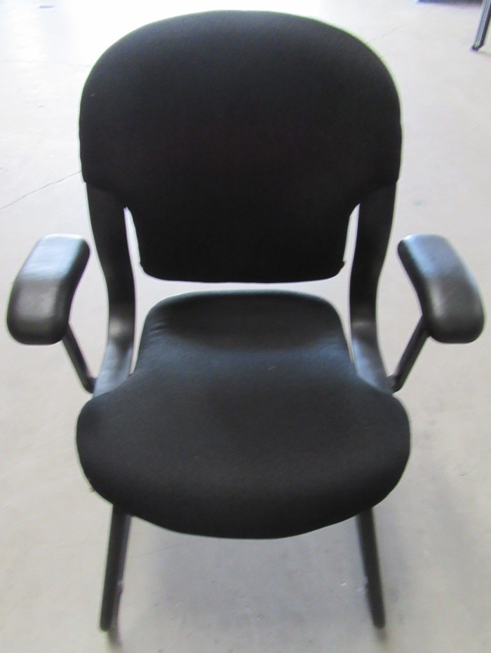 Herman Miller Black Side Chair