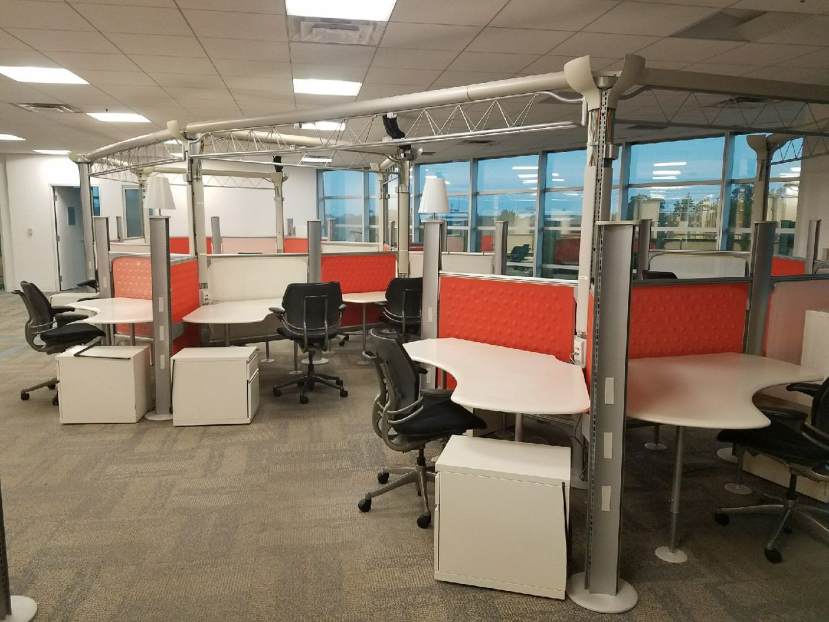 Herman Miller Resolve Cubicles