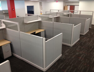 used cubicles in Houston