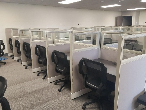 Used Office Cubicles in Houston