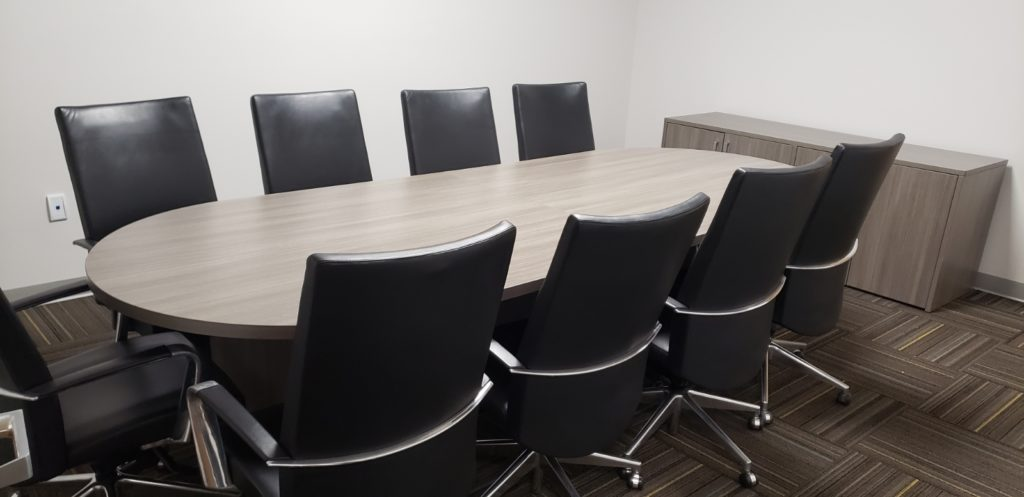 Cherryman Valley Grey Conference Table