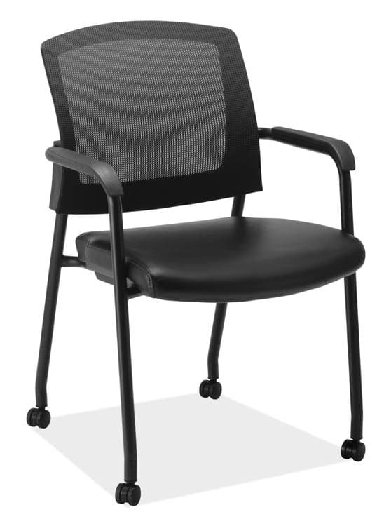 Micro Side Chair with Casters